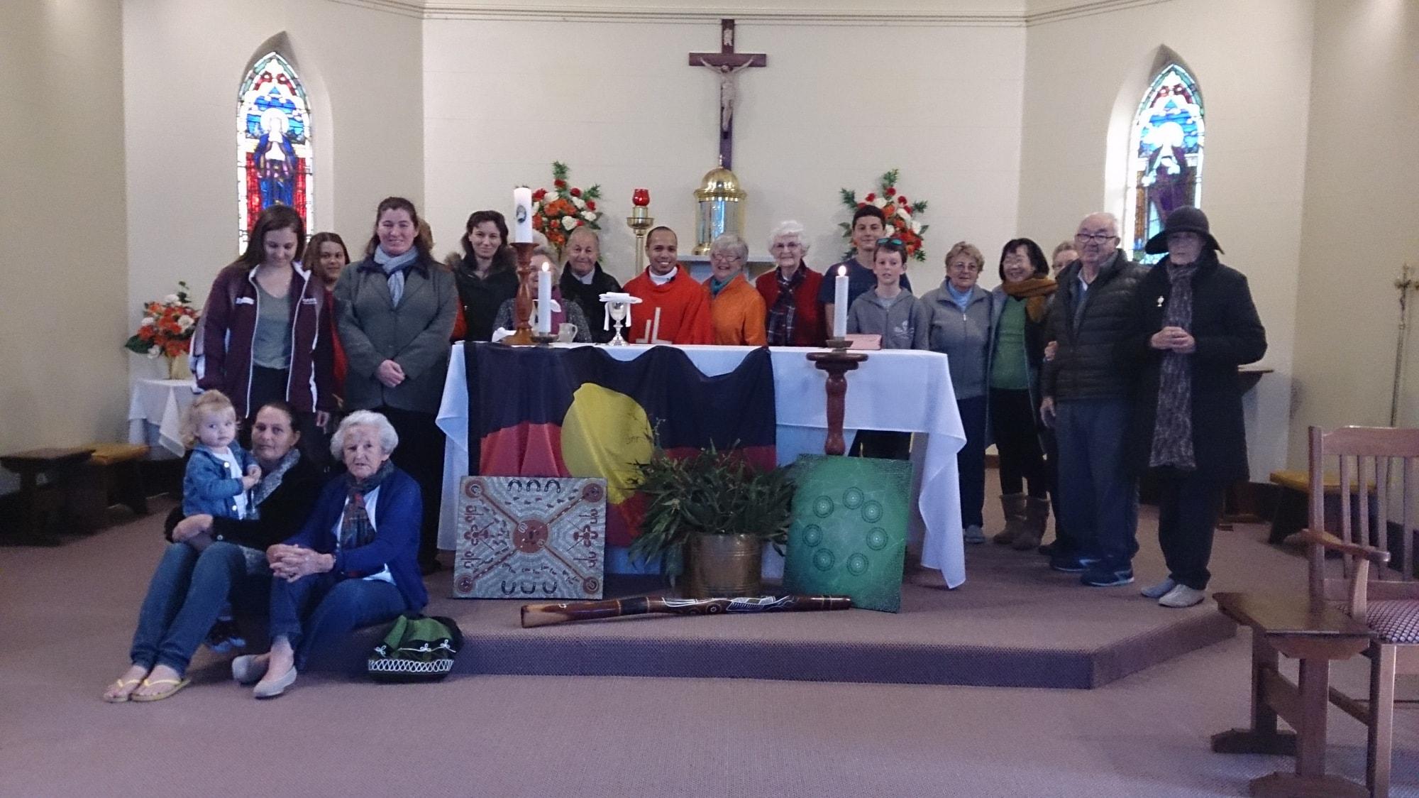 Busselton Parish celebrates NAIDOC Week