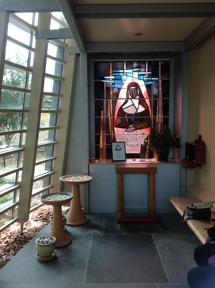 A Shrine in St Joseph's Church, Penola