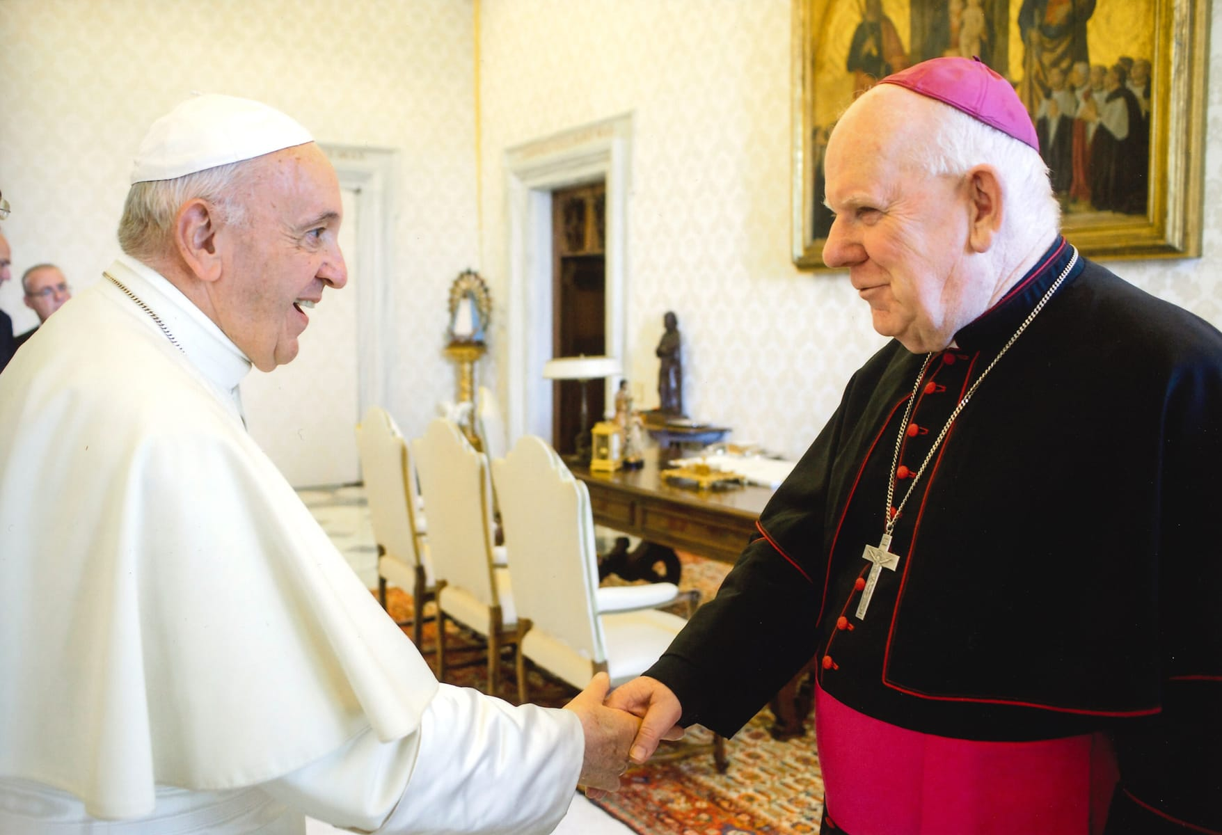 Bishop-Holohan-&-Pope-Francis